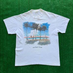 Vintage Lido Beach Florida Single Stitch Shirt